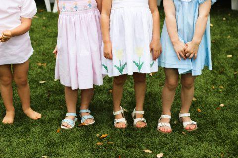 Flower Girl Dresses: Teaching Young Girls Femininity